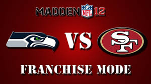 seahawks 49ers thanksgiving madden 12 seattle seahawks vs san francisco 49ers week 1 youtube