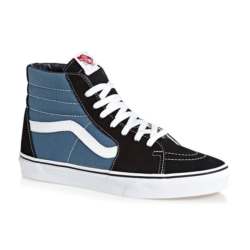 Vans Unisex Sk8-Hi Hi-Top Sneakers (5.5 US Women/4 US Men)