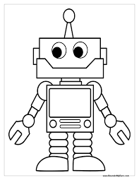sheets robot coloring page 29 for coloring pages for adults with