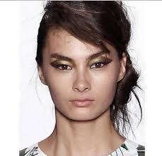 marisa webb models runway show maybelline best makeup trends looks 2017 2018 nyfw