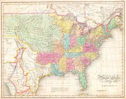 States Of United States Map by File 1823 Melish Map Of The United States Of America