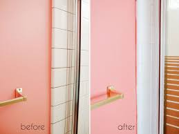 Painting Bathroom by A Bathroom Tile Makeover With Paint U2013 Ramshackle Glam