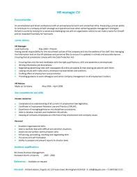 Senior Hr Manager Resume Sample by A Hr Manager Cv Template With A Simple But Eye Catching Design