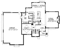 Two Story Floor Plan Two Story Ocean View House Plans