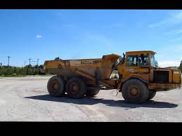volvo a25c articulated dump truck service repair manual youtube