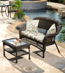 Wicker Resin Patio Furniture - outdoor living creating a backyard retreat my kirklands blog