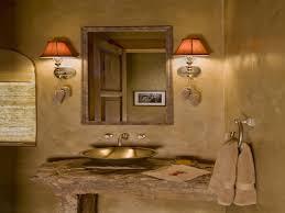 silver bathroom mirror rustic bathroom design ideas mexican