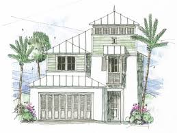 Beach Style House by Beach Style House Plan 3 Beds 2 50 Baths 2034 Sq Ft Plan 426 12