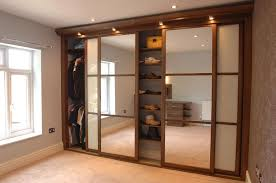 Home Decor Sliding Wardrobe Doors Some Ways To Add More Security To Your Simple Sliding Closet Doors