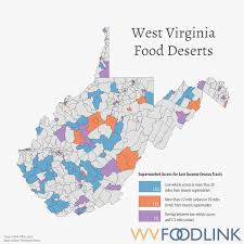 Map Of West Virginia Counties Wv Foodlink Researchers Work To Link People To Food West
