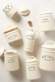 Pottery Canisters Kitchen Best 25 Kitchen Canisters And Jars Ideas On Pinterest Country