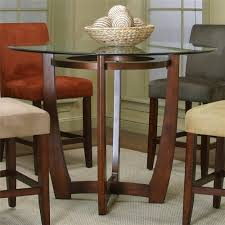 Counter Height Dining Room Tables by Counter Height Dining Table With Cherry Wood Base By Cramco Inc