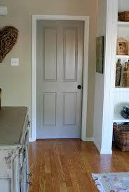 Grey Interior Best 25 Painting Interior Doors Ideas On Pinterest Interior