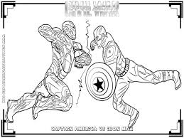 iron man coloring pages free coloring civil war coloring page
