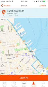 Mapping A Route by Routes Ios U2013 Strava Support