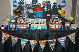 Home Party Ideas Superheroes Birthday Party Ideas Home Party Ideas