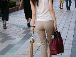 着物のパンティーライン 24