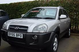 used hyundai tucson cdx for sale motors co uk