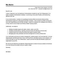 Administrative Assistant  amp  Executive Assistant Cover Letter
