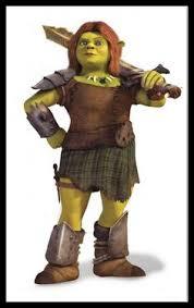 Chubby Halloween Costumes Cosplay Size Fiona Shrek Ogre Princess Costume