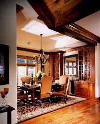 drake lodge lake blue ridge interior design great room dining room