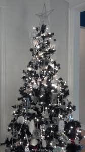 silver decorated christmas tree ideas christmas lights decoration