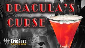 how to make draculas curse cocktail halloween cocktail recipe