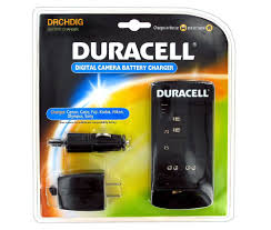 amazon com duracell digital camera battery charger with six