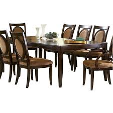 Steve Silver Dining Room Furniture Steve Silver Montblanc Dining Table With Two 18 Inch Leaves Mb500t