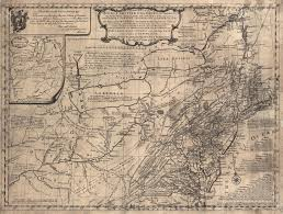 Map Of The New England Colonies by Fry And Jefferson Revisited The Mesda Journal
