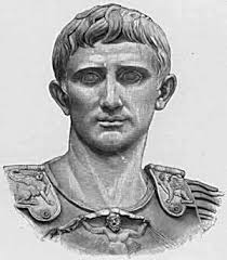 But Fulvia dies, Mark Antony