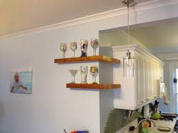 Glass Shelves Kitchen Cabinets Interior Design Exciting Floating Shelves Ikea For Inspiring