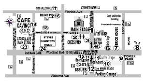 Map Of Wellington Florida 17th Annual Deland Original Music Festival Sat Nov 4th 2017