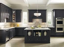 Dark Kitchen Cabinets With Backsplash Cream Wooden Wall Mounted Cabinet Brown Laminated Wooden Island