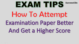 paper for writing exam tips how to attempt the examination paper for higher score exam tips how to attempt the examination paper for higher score youtube