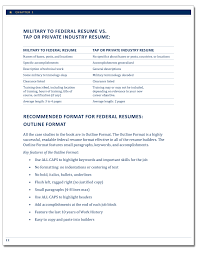 Writing Your First Basic Military to Federal Resume   The Resume Place The Resume Place Military to Federal Career Guide   nd Edition  page