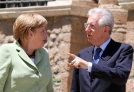 Monti dà l'ultimatum alla Merkel