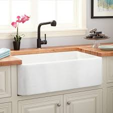 Polished Marble Farmhouse Sink White Thassos Stone - Marble kitchen sinks