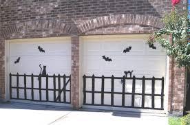 making halloween garage silhouettes nicki woo