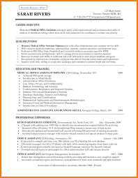 job objective sample resume medical assistant resume objective examples free resume example medical assistant resume objectives essay medical assistant objective sample resume