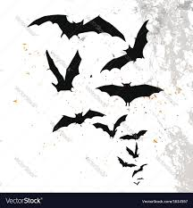 black and white halloween backgrounds halloween background with flying bats royalty free vector