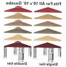 Replacement Canopy Covers by Replacement Cover For Gazebo Canopy Gazebo Ideas
