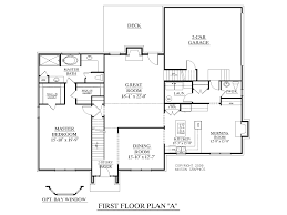 Simple 4 Bedroom House Plans by Single Story 4 Bedroom House Plans 4 Bedroom Single Story House