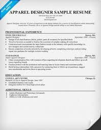 Maintenance Technician Resume Sample by Apparel Designer Resume Example Resumecompanion Com Resume