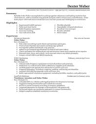 writing a military resume best order picker resume example livecareer create my resume