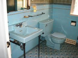 Vintage Bathroom Tile Ideas Blue Bathroom Remodel