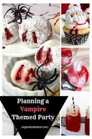 Themed Halloween Party Ideas by Best 25 Vampire Party Ideas On Pinterest Bloody Halloween