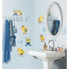 rubber ducky themed bathroom home design ideas