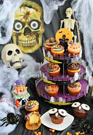 Fun Halloween Cakes Kitchen Simmer Monster Party Halloween Cupcakes Goodcookcom