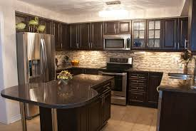 Kitchen Refacing Ideas by Kitchen With Dark Cabinets Inspiration Kitchen Cabinet Ideas For
